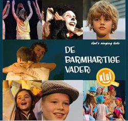 Familiemusical 'De Barmhartige Vader' door de KisiKids op zaterdagmiddag 8 maart om 14.30 uur in de Sint Jansbasiliek, Laren