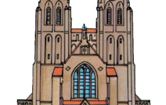 Oecumenische viering van de gezamenlijke BEL-kerken in de Sint Jansbasiliek, Brink, Laren. Zondag 20 januari 2019 11.00 uur