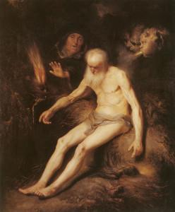 Job (geschilderd door Jan Lievens 1607-1674)
