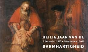 Afsluiting Jaar van de Barmhartigheid op zondag 27 november 2016 om 12.00 uur in de Sint Jansbasiliek met een speciale themaviering