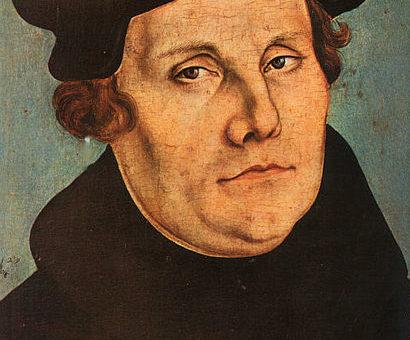 Luther en de kerkmuziek. Met Peter den Ouden en Marnix van der Sijs op maandag 23 oktober 2017 om 20.00 uur in de Dorpskerk, Torenlaan, Blaricum