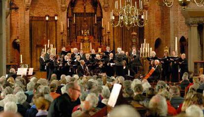 Paasconcert op tweede Paasdag door de Sint Jans Schola. Maandag 22 april 2019 15.30 uur. Sint Jansbasiliek, Brink, Laren